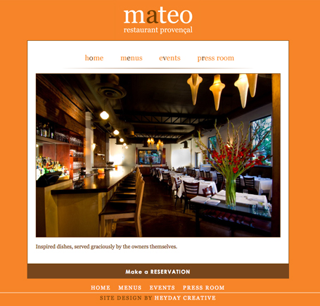 Post image for Restaurant Lovins: Mateo