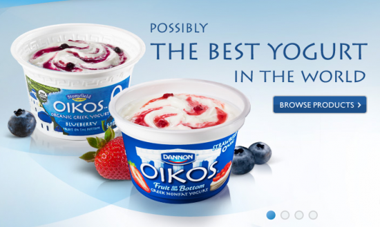 Post image for Dannon's New Oikos Greek Yogurt