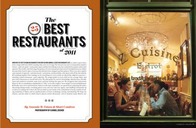 Post image for 2011 Top 25 Restaurants of Denver from 5280