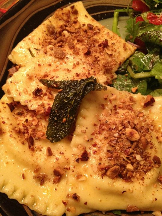 Post image for Homemade Ravioli: Butternut Squash & Spinach Ricotta