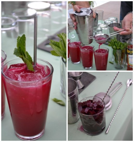 Beet Down Cocktail
