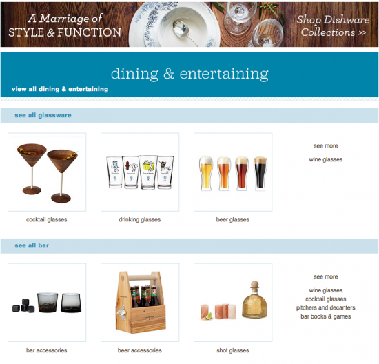Dining and Entertainment Uncommon Goods