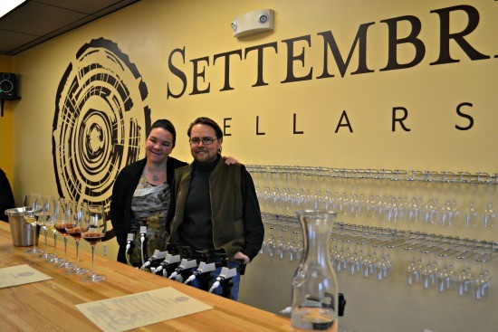 Tracy and Blake Settembre Cellars