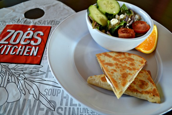 Ham And Cheese Piadina Grace Full Plate