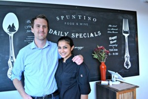 Elliot Strathmann and Cindhura Reddy of Spuntino