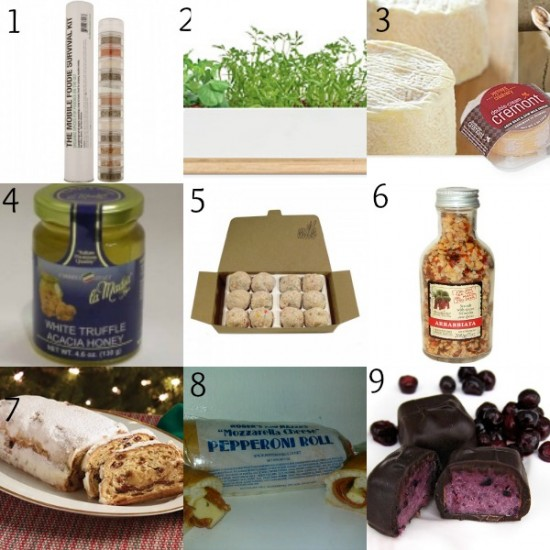 Edibles Foodie Gift Guide 2013