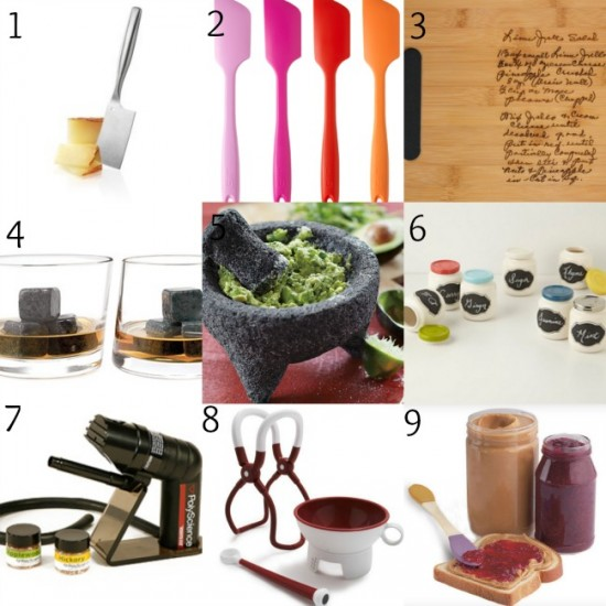 In the Kitchen - Gracefullplate Foodie Gift Guide 2013